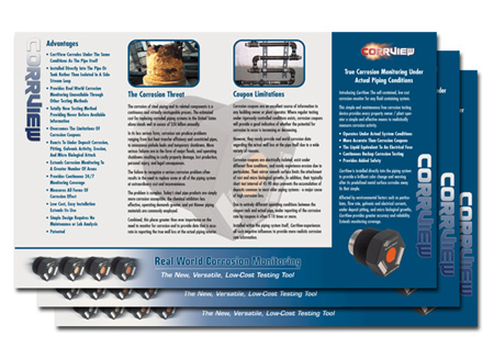 Brochure design sales brochures marketing and small for Sales slick template
