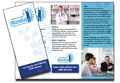 Trifold Brochure Samples Medical Brochure Samples Healthcare Trifolds Designs For Tech