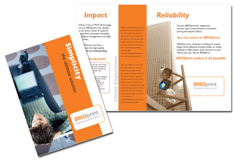 standard brochure sizes applications and dimensions us