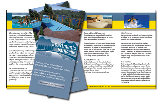 Trifold Brochure Samples - Medical Brochure Samples, Healthcare